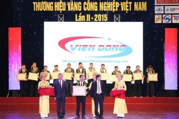 Viễn Đông – Thương hiệu Vàng Công nghiệp Việt Nam 2015