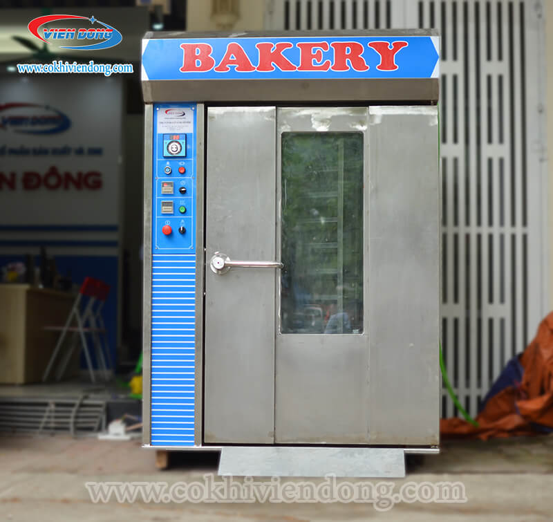 Lò nướng bánh mì xoay 10 khay Việt NamLò nướng bánh mì xoay 10 khay Việt Nam