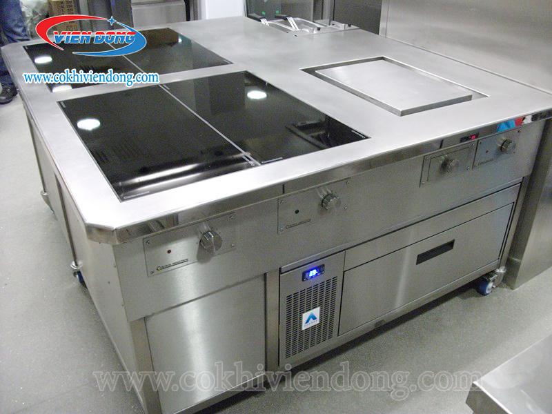 giá bếp điện từ công nghiệp