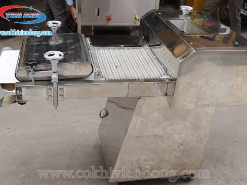Sử dụng máy se bột làm bánh trong dây chuyền làm bánh mì