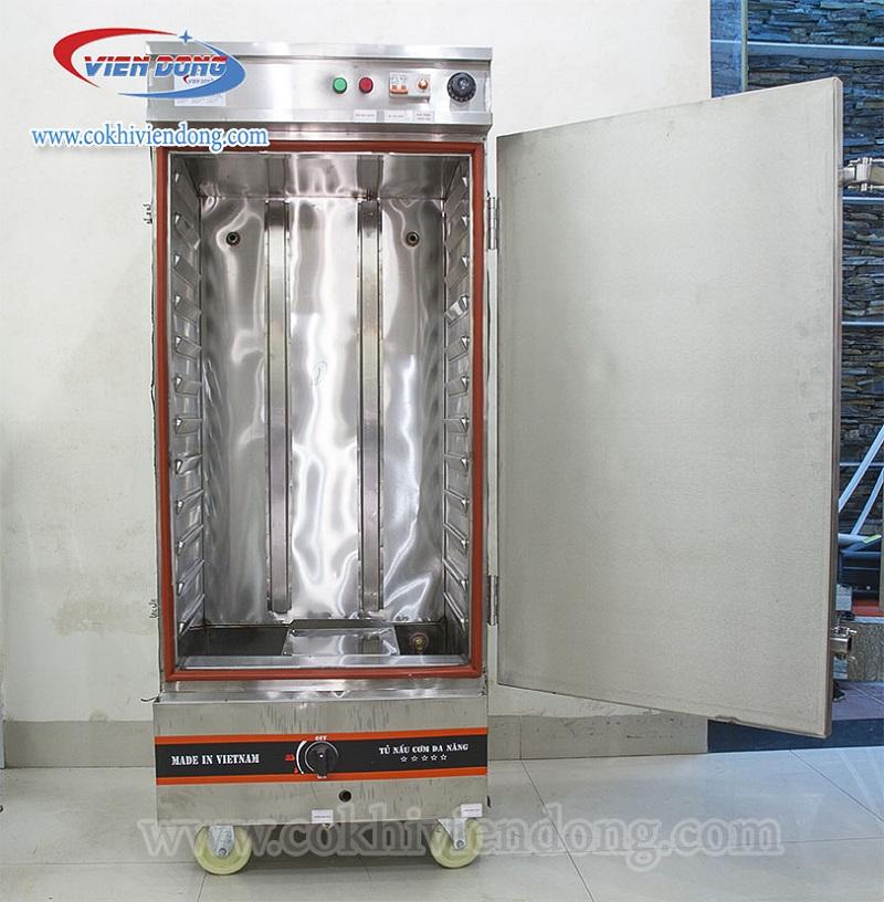 Tủ cơm công nghiệp gas điện Việt Nam