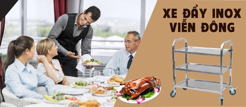 Sử dụng và bảo quản xe đẩy thức ăn nhà hàng sao cho đúng?