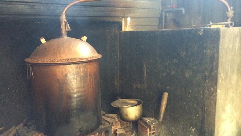 dây chuyền nấu rượu gạo