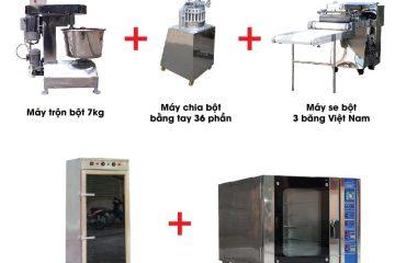 Quy trình sản xuất bánh mỳ theo dây chuyền – Vô cùng đơn giản!!