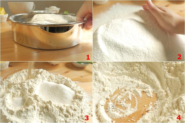 cách làm bánh mì gối trắng