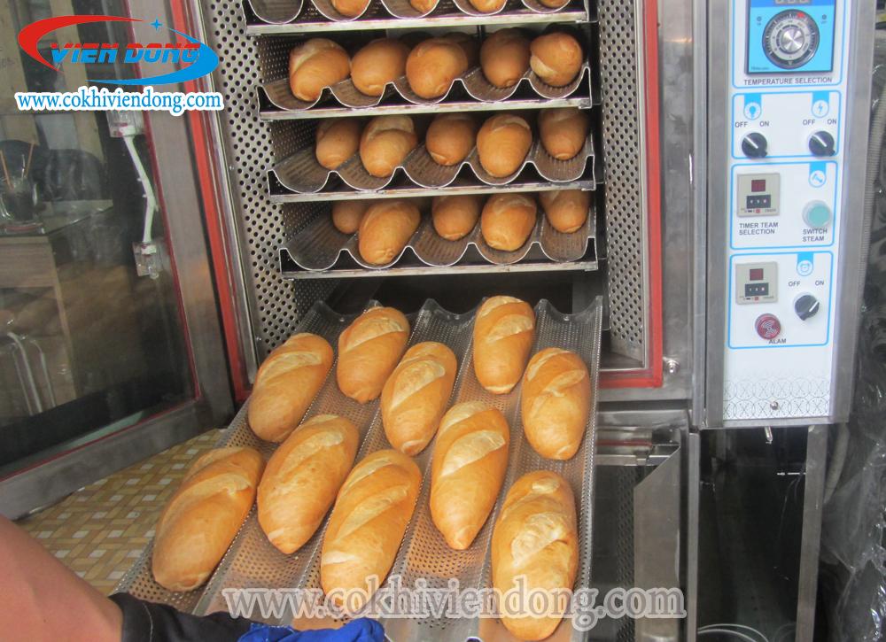 Lò bánh mì điện đối lưu