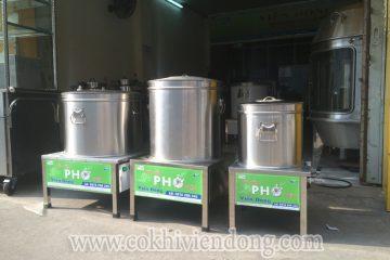 Nồi nấu phở tiết kiệm điện – Một trong số những sản phẩm cần mua nhất khi mở cửa hàng Bún phở